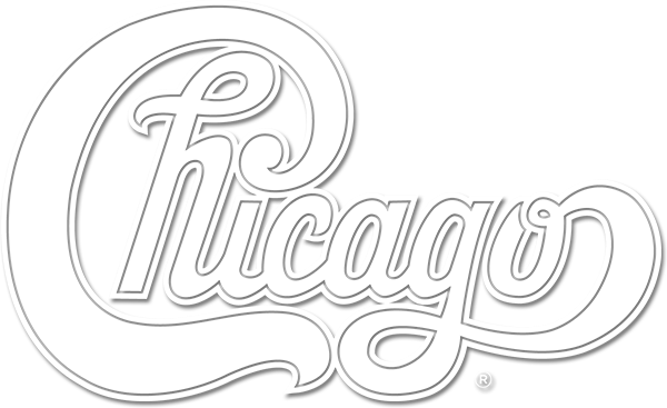 logo for the band Chicago