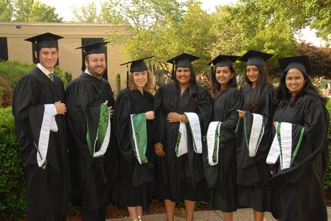 MHA Students at Conference